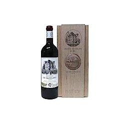 CASTEL 歌兰酒庄 法国波尔多原装进口红葡萄酒 木盒装750ml
