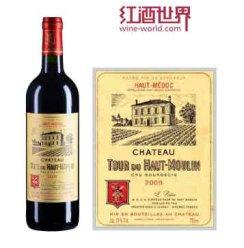 红酒世界 波尔多中级庄 2009年上慕琳塔酒庄红葡萄酒