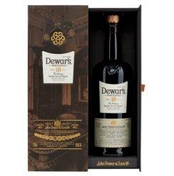 帝王(Dewar's)洋酒 威士忌 18年苏格兰调配威士忌 750ml