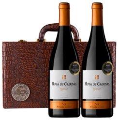 《【京东自营】西班牙 荷雅卡蒂娜斯 陈酿西拉干红 *2 棕色精品礼盒 plus49元(需用券)》