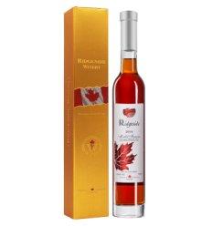 加拿大冰酒庄园VQA进口2014年份列吉塞金枫叶梅乐冰红葡萄酒单支礼盒装【可代写贺卡】