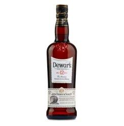 【京东超市】帝王(Dewar's)洋酒 12年调配苏格兰威士忌700ml