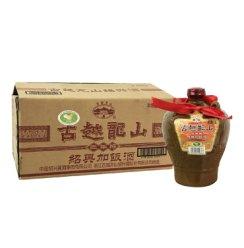 古越龙山 绍兴黄酒 三年陈 加饭酒 1.5L*6坛 整箱装