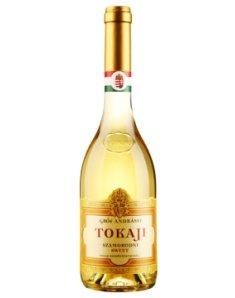 匈牙利安德斯伯爵托卡伊晚收甜白葡萄酒