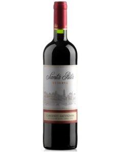 智利桑塔丽塔加本力苏维翁特酿干红葡萄酒