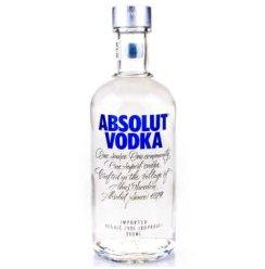 【京东超市】绝对伏特加(Absolut Vodka)洋酒 原味伏特加酒 350ml