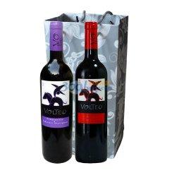 西班牙原瓶进口 骑士干红双支礼袋(添普兰尼洛+赤霞珠、西拉)750ml*2