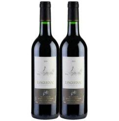 法国地中海风情·朗格多克2010干红葡萄酒双支装 750ml*2