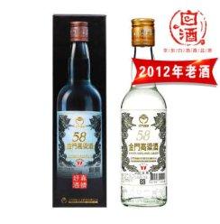 台湾金门高粱酒(小白金龙) 58度300ml