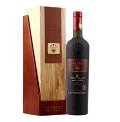 长城葡萄酒 钻石五星赤霞珠干红葡萄酒礼盒750ml
