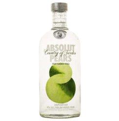 绝对伏特加苹果梨味 ABSOLUT PEARS 700ml 瑞典进口洋酒