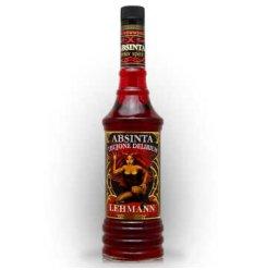 西班牙原装进口洋酒 雷曼Lehmann血色梦幻苦艾酒利口酒 absinthe 700ML