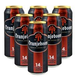 德国进口14度 Oranjeboom 橙色炸弹烈性啤酒
