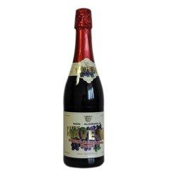 圣堡牌庆贺无醇气泡酒(红葡萄)(进口食品 瓶装750ml)
