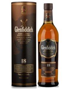 英国格兰菲迪18年单一麦芽威士忌
