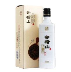 会稽山 绍兴黄酒 匠心之作低聚异麦芽糖大米黄酒单瓶500ml 两个配礼品袋