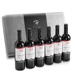 【原瓶原装】智利进口红酒 大M 赤霞珠干红葡萄酒750ml 6支丨超值整箱装