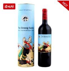 【清仓】澳大利亚詹姆士水手西拉混合干红2009 纸盒装