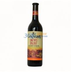 张裕干红葡萄酒品丽珠650ml(两款包装随机发).