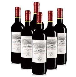 智利拉菲巴斯克干红葡萄酒750ml*6 整箱  ASC行货