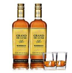 《【京东商城】歌帝利(Grand de) 乌克兰威士忌 700ml*2+送洋酒杯*2 103元(需用券)》