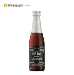 《【苏宁自营】比利时 Lindemans 林德曼法柔啤酒250ml*6瓶 45.15元(双重优惠)》