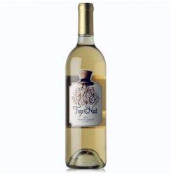 美国原瓶进口 大礼帽灰比诺干白葡萄酒750ml