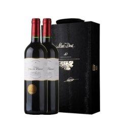 蒙佩奇弗朗系列干红葡萄酒-双支礼盒酒具版