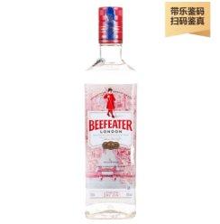 「酒牧旗舰店」必富达(Beefeater)英国伦敦金酒 带乐鉴码 必富达 700ml