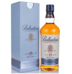 百龄坛(Ballantine's)洋酒 15年苏格兰威士忌 700ml