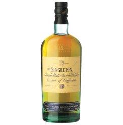 酒牧旗舰店 苏格登(Singleton)单一麦芽威士忌原装进口洋酒 700ml(新老包装随机) 苏格登12年达夫镇