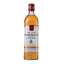 麦高瑞(Macaulay)洋酒 苏格兰威士忌700ml