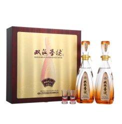 《【京东自营】双沟 珍宝坊之圣坊 42度(480ml+20ml)*2瓶 350.5元(双重优惠)》