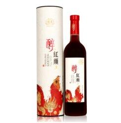 楼兰醉红颜9度甜红葡萄酒750ml