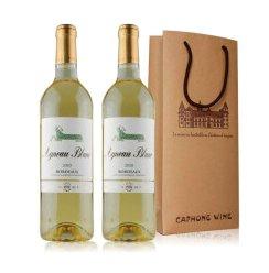 法国原瓶进口 Mouton木桐名庄 木桐传说波尔多AOC级干白葡萄酒750ml*2 双礼袋