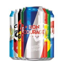 青岛啤酒 8国加油罐500ml*8罐 礼盒装(8度)
