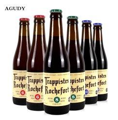 [古缔酒类专营店]比利时原装进口啤酒 罗斯福6号8号10号组合6瓶装精酿啤酒330ml