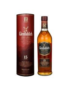 英国格兰菲迪15年单一麦芽威士忌