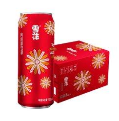 《【苏宁自营】雪花啤酒限定版 节庆红罐 500ml*12听 30.88元(双重优惠)》