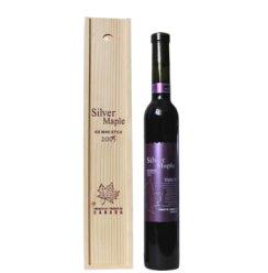 银枫冰红葡萄酒 木盒装 375ml 冰酒 加拿大技术冰酒 支持货到付款