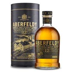 【京东超市】艾柏迪(Aberfeldy)12年苏格兰东高地单一麦芽威士忌700ml