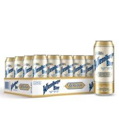 《【京东自营】威瑟尔堡 小麦白啤酒 500ml*24 89元(每399-60)》