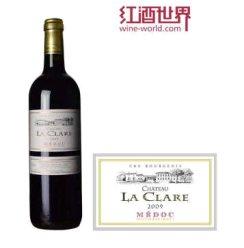 红酒世界 波尔多中级庄 2009年克莱尔酒庄红葡萄酒