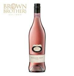 澳洲原瓶 进口红酒 布朗/布琅兄弟莫斯卡托桃红葡萄酒 750ml
