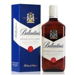 洋酒 英国Ballantine 百龄坛 特醇威士忌 750ml 威士忌洋酒礼盒