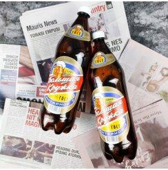 俄罗斯进口啤酒波罗的海原装清淡型大杯子琥珀啤酒 1.42L/桶*2桶