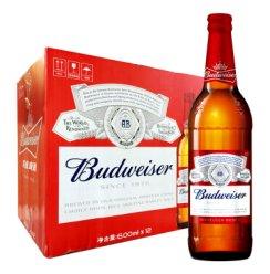 《【京东自营】百威啤酒 600ml*12瓶 64元(双重优惠)》