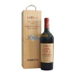 华夏长城红酒 A区赤霞珠干红葡萄酒木盒装750ml