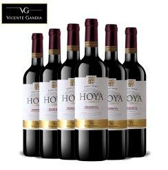 VG西班牙原瓶进口红酒DO级丹魄干红葡萄酒 6支整箱