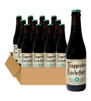 比利时进口啤酒 修道士啤酒 Rochefort罗斯福10号330ml*6精酿啤酒 罗斯福8号啤酒*12瓶